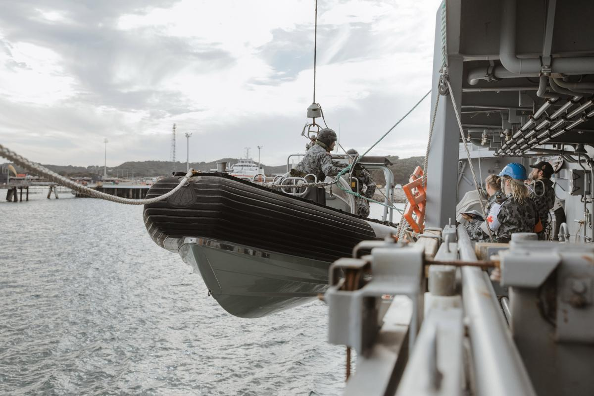 The sea boat is an essential enabler of maritime capability.