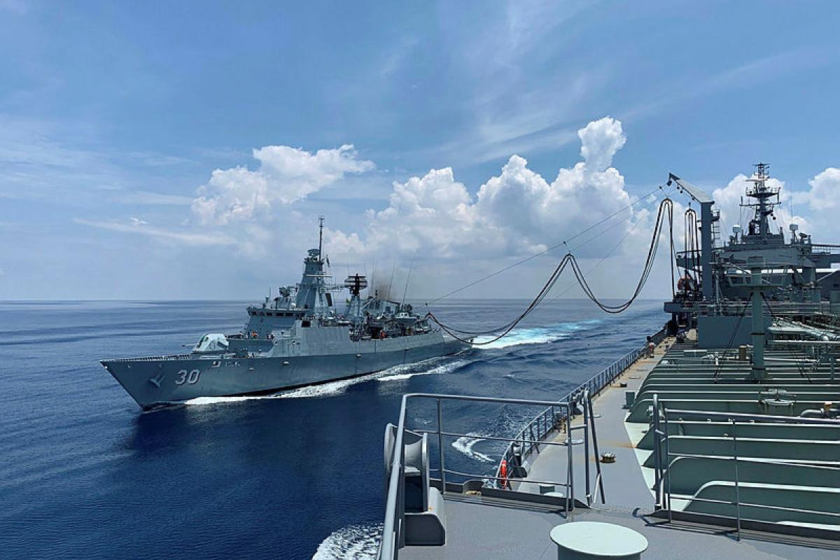 Eleven vessels and over 1,000 personnel across two task groups will visit regional partners in Northern and Southern Asia for multinational exercises and regional engagement activities. Photo: SBLT Emily Obrien
