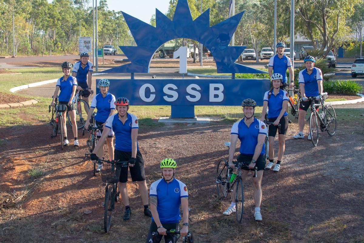 Soldiers from 1st Combat Service Support Battalion will ride in effort to raise funds for The Cancer Council. Photo: Private Rodrigo Villablanca