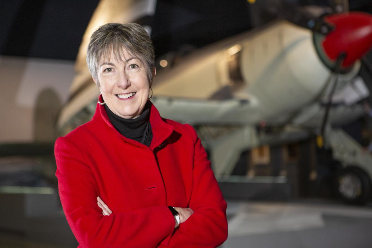 Former Wing Commander Robyn Clay-Williams (retired) reflects on her time in the Air Force as a test pilot. Photo: Sergeant Rob Hack