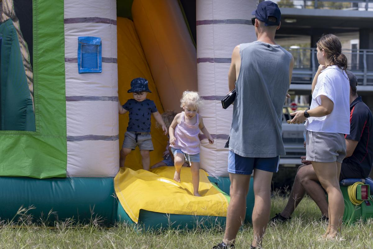 The Gallipoli Barracks Garrison Family Day will have various entertainment options for Defence members and their families. Photo: Corporal Nicole Dorrett