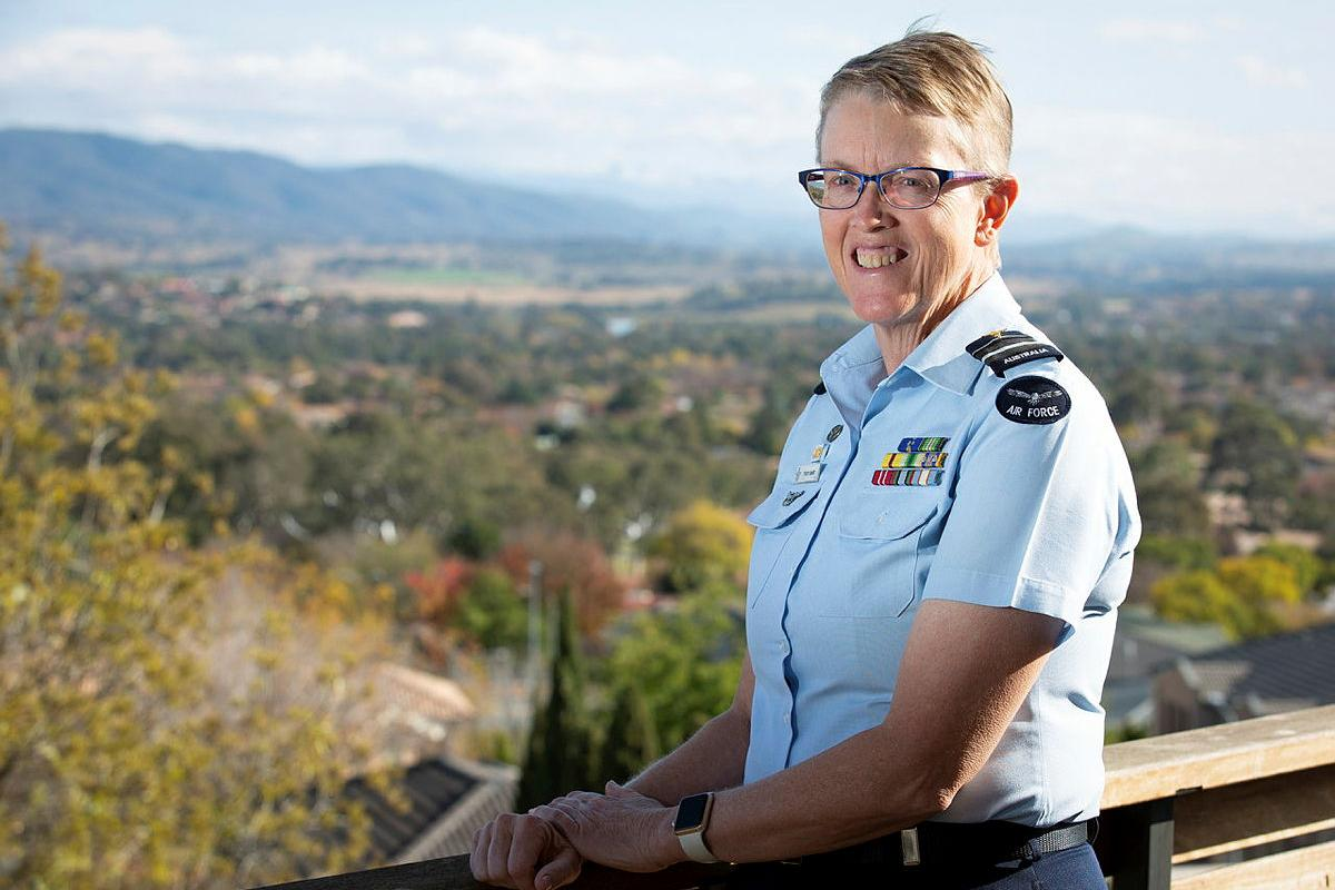 Air Vice Marshal Tracy Smart is Defence's newly appointed Strategic Adviser, LGBTI Inclusion. Photo: Corporal Kylie Gibson