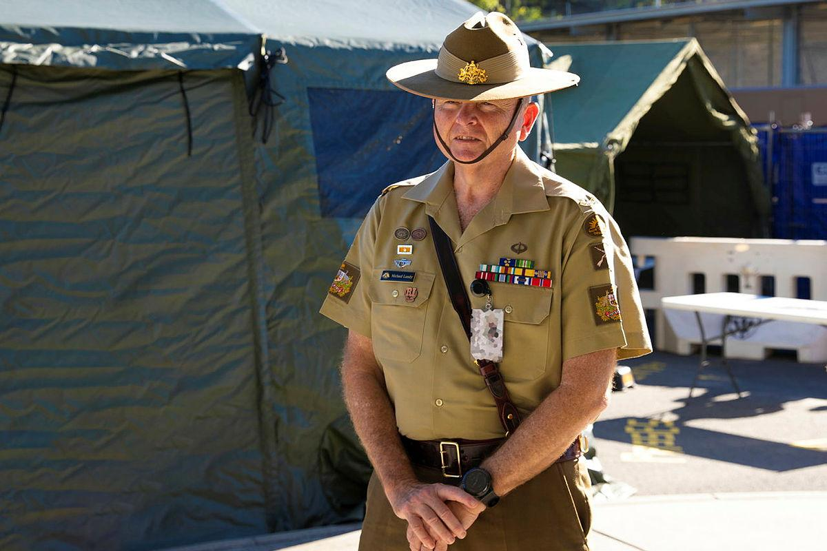 Warrant Officer Class One Michael Landy took part in the Army Industry and Corporate Development Program.