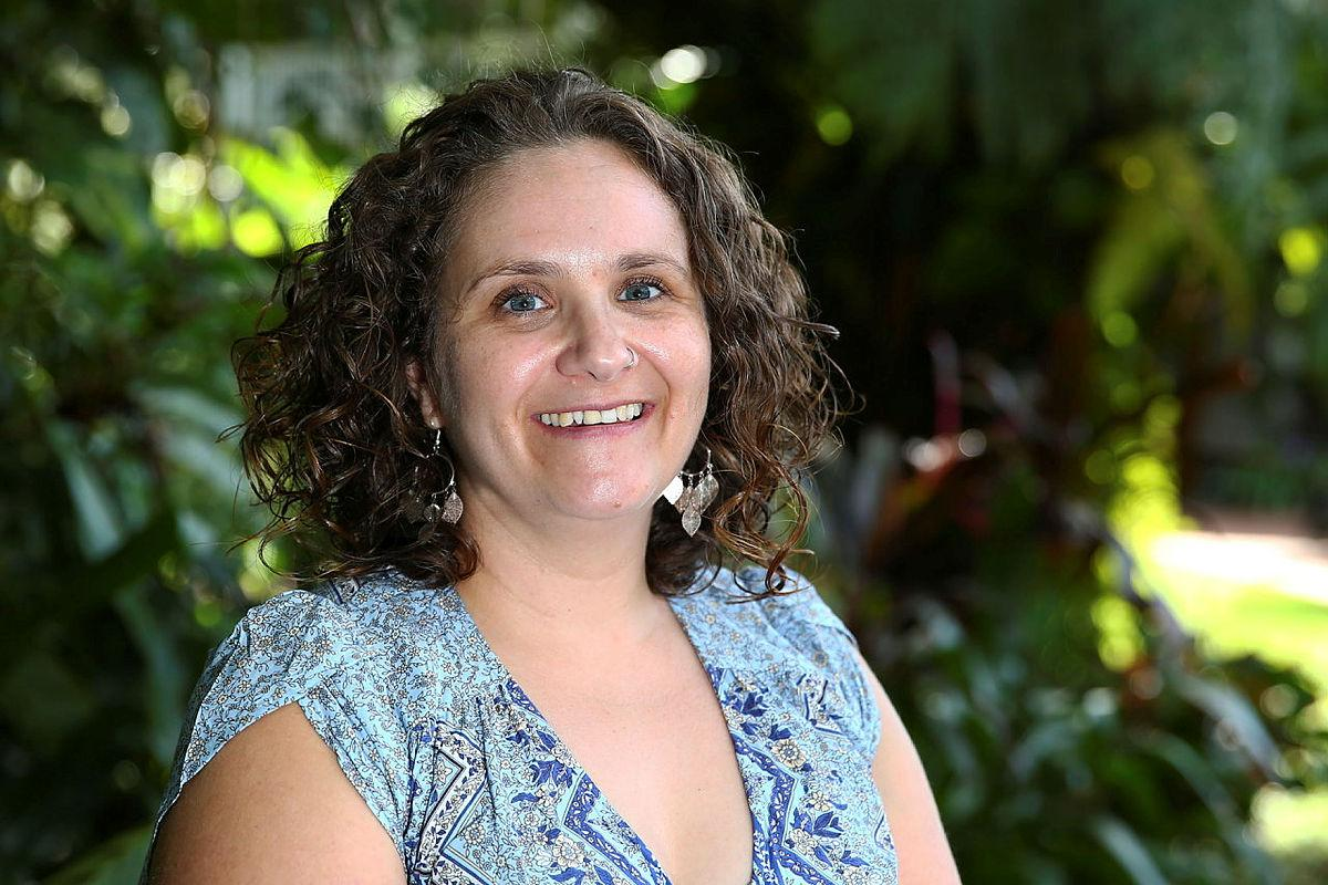 Joanna Minuzzo, chairperson and co-founder of the Cairns Defence Community Support Group. Photo: Warrant Officer Class 2 Max Bree